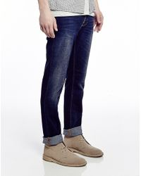 Nudie Jeans Jeans Crosshatch Worn In Grim Tim - Lyst