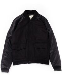Native Youth - Contrast Sleeve Bomber Jacket - Lyst