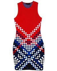 Alexander Wang Degrade Weave Tank Dress - Lyst