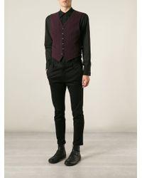 Jean Paul Gaultier Pocket Waistcoat - Lyst