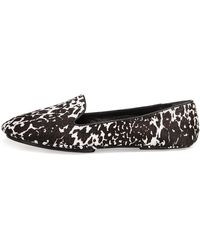 Saint & Libertine Fierce Calf Hair Loafer Leopard - Lyst