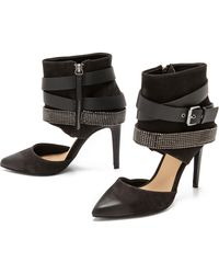 Joe's Jeans Angie Studded Ankle Strap Pumps  Natural - Lyst