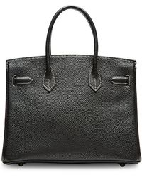 Heritage Auctions Special Collection Hermes 30cm Black  Vert Anis Togo Special Order Birkin - Lyst