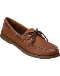 Sperry Top-Sider Authentic Original 2 Eye Sahara Tan Leather - Lyst