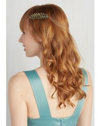 Ana Accessories Inc - Leaves Of Classic Hair Comb - Lyst