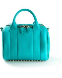 Alexander Wang Blue Lagoon Leather Rockie Bag - Lyst