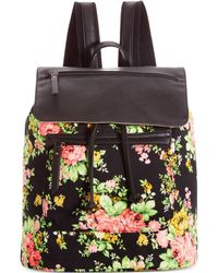 Madden Girl Floral Posey Backpack - Lyst