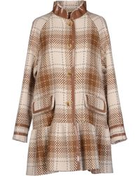 John Galliano Brown Coat - Lyst