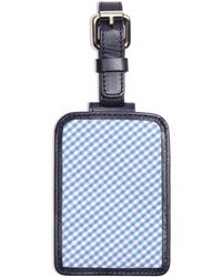 Brooks Brothers - Gingham Luggage Tag - Lyst