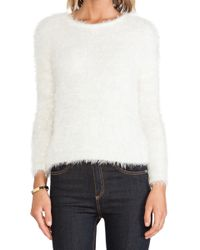 Ladakh Howling Faux Fur Sweater - Lyst