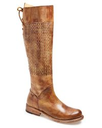 Bed Stu 'Cambridge' Knee High Leather Boot - Lyst