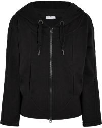 Adidas By Stella Mccartney Essentials Cottonblend Jersey Hooded Top - Lyst