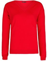 Mango Essential V-Neck Sweater - Lyst