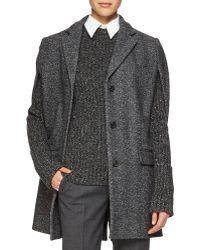 Michael Kors Herringbone Wool-Blend Jacket - Lyst