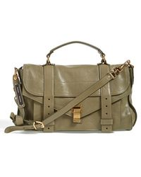 Proenza Schouler Women'S 'Medium Ps1' Satchel - Green - Lyst