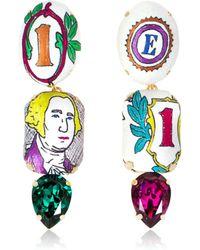 Bijoux De Famille - Funky Dollar Pendent Earrings - Lyst