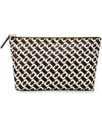 Diane von Furstenberg Heritage Print Small Nylon Cosmetic Case - Lyst
