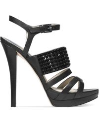 Michael Kors Michael Arabella Platform Sandals - Lyst