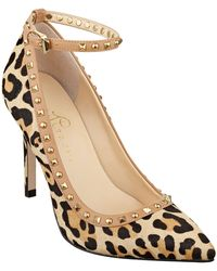Ivanka Trump Galyn Haircalf Leather Pumps - Lyst