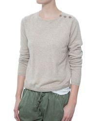 Chinti & Parker Pineapple Elbow Patch Sweater - Lyst