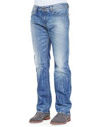 Diesel Waykee 816p Straight-leg Jeans - Lyst