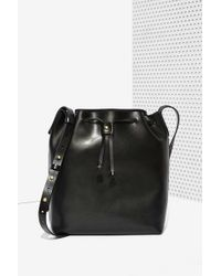 Nasty Gal Kelsi Dagger Wythe Leather Bucket Bag - Lyst