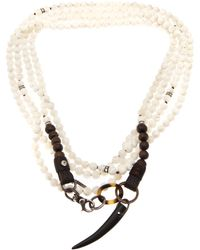 Beth Orduna - Beaded Necklace - Lyst