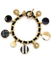 Carolee - Charm Chain Bracelet - Lyst