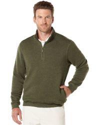 PGA TOUR - Men's Golf Performance Quarter-zip Pullover - Lyst
