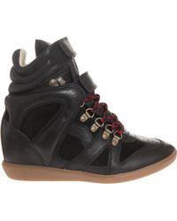 Etoile Isabel Marant Buck Tibetan Boots - Lyst