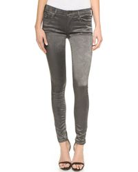 True Religion Joan Smalls X Legging Jeans - Charcoal gray - Lyst