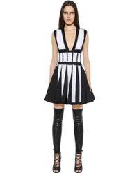 Givenchy Studded Milano Knit Dress - Lyst