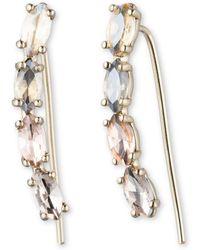 Marchesa Petunia Crystal Earring Crawler