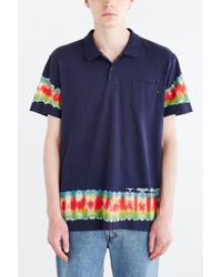 Obey Cay Pocket Polo Shirt blue - Lyst