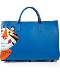 Anya Hindmarch Frosties Leather Shopper - Lyst