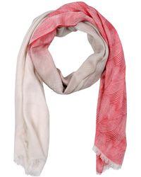 Giorgio Armani Stole pink - Lyst