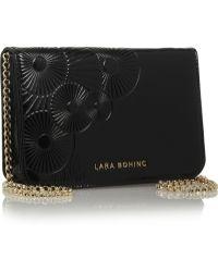 Lara Bohinc - Embossed Patentleather Shoulder Bag - Lyst