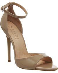 Office Priscilla Single Sole Sandal beige - Lyst