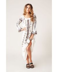 Antik Batik White Tolata Dress - Lyst