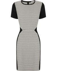 Oasis Sparkle Jacquard Dress - Lyst