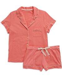 Calvin Klein 2-Piece Pajama Set - Lyst