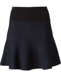 Opening Ceremony Patterned Flared Skirt - Lyst