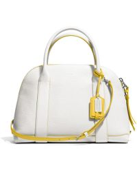 Coach Bleecker Preston Satchel in Edgepaint Leather - Lyst