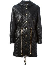 Moschino Oversize Quilted Parka - Lyst