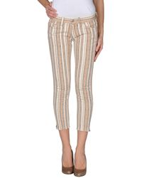 Etoile Isabel Marant Denim Trousers brown - Lyst