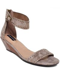 Me Too - Adam Tucker Lexa Wedge Sandals - Lyst