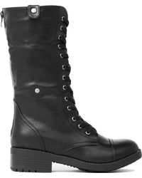 Wanted - Recruit Combat Boots - Lyst