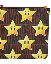 Moschino - Super Pvc Pouch - Lyst
