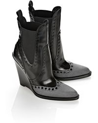 Alexander Wang Nadja High Heel Wedge Boot - Lyst