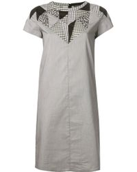 Labour Of Love Patchwork Dress - Lyst